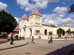 Holguin arquitecture...old city plaza , Cuba