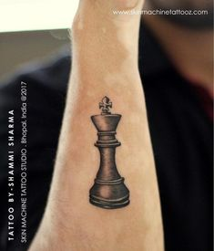 the best quality king tattoos from the playing card king tattoo, chess piece king, lion king and skeleton king tattoo. check out the best in royal ink. King Tattoos, Mom Tattoos, Couple Tattoos, Body Art Tattoos, Small Tattoos, Sleeve Tattoos, Tatoos, Chess Piece Tattoo, Pieces Tattoo
