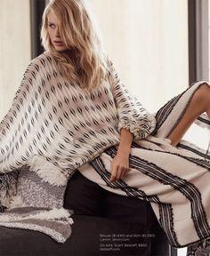 Fabienne Hagedorn and Ben Hill for Luxury Magazine