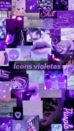 Ícons violetas