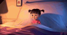 hs,pixar,movie,GIF,laughing,sleeping,monsters inc,Boo
