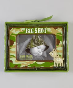 Take a look at this Camo  Big Shot  Frame by Baby Essentials on   d7f1e47c5a4b