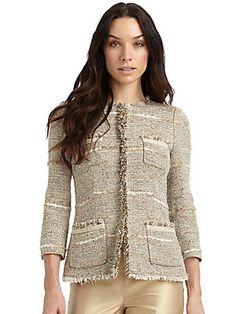 Lafayette 148 New York Tressel Tweed Jacket