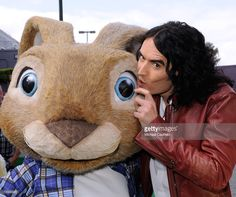 Actor Russell Brand arrives at the Los Angeles premiere of 'Hop' at Universal Studios Hollywood on March 27, 2011 in Universal City, California.