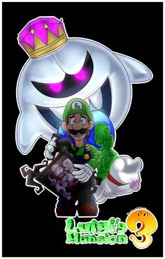 Luigi's Mansion 3 by AafterglowEeye on DeviantArt Luigi And Daisy, Mario And Luigi, Mario Kart, Super Mario Bros Nintendo, Luigi's Mansion 3, Mario And Princess Peach, King Boo, Nintendo World, Game Themes