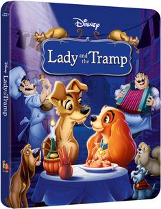 Lady and the Tramp - Zavvi Exclusive Limited Edition Steelbook (The Disney Collection #8)