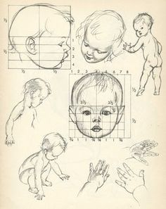 Pogany's Drawing Lessons drawing baby enfant toddler