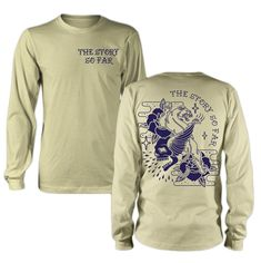 43ca5cc3 Skull Panther Cream Long Sleeve Shirt : : MerchNOW - Your Favorite Band  Merch, Music and