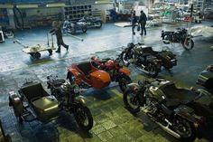 Desde 1941 as motos Ural são feitas na Sibéria.