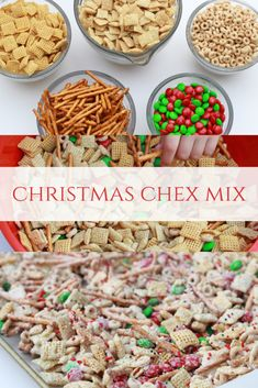 Christmas Chex Mix - Leah With Love