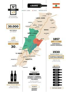map vineyards libano - Pesquisa Google