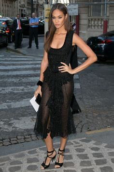 Joan Smalls in Givenchy    - HarpersBAZAAR.com