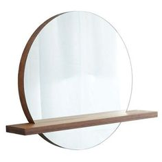 """Native Trails MC282 Renewal Solace Circular 35""""H x 28""""W Flat Bamboo Mirror with"""