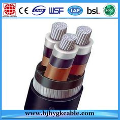 China 8.7-15kv Aluminum Alloy Conductor XLPE Insulated PVC Sheathed Steel Wire Armoured Power Cable Manufacturers