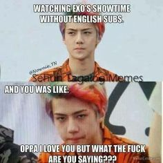 I know this happened to me XD I thought I had chosen one with the subs and when they didn't come I got so upset....