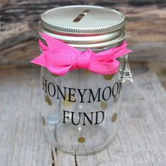 Money Jar - Honeymoon Fund