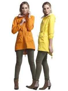 Camilla Morch, Raincoat, WILD-SWANS.COM