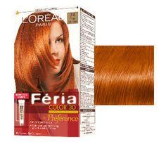 L'Oreal Feria Hair Color 74 Mango Intense Copper Hair Dye Colors, Red Hair Color, Blonde Hair Shades, Strawberry Blonde Hair, Copper Hair, Sally Beauty, Good Hair Day, Pale Skin, Grow Hair