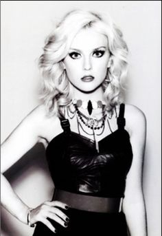 I should proud of who I am and love myself and my body but that's really hard to do when Perrie Edwards exists