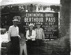 Shorpy Historical Photo Archive :: Continental Divide: 1963
