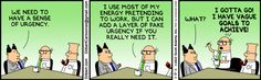 Dilbert comic strip for 02/18/2013 from the official Dilbert comic strips archive.