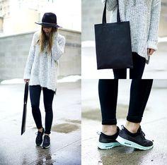 Fashion • minimalistic style, Nike Thea <3