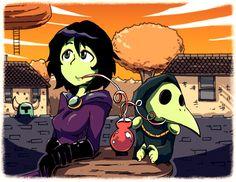 Mona and Plague Knight #ShovelKnight