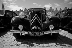 #Citroën #Traction Avant - www.gdecooman.fr portfolio, cours et stages photo à Lille, visites guidées de Lille