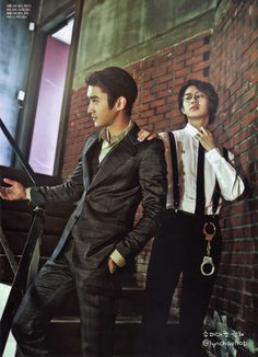 Super Junior's Siwon and Heechul