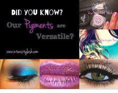 Younique mineral pigments