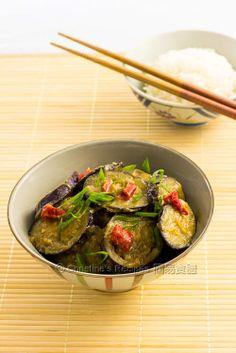炒味噌茄子【美味日式小菜】 Pan-fried Miso Eggplants from 簡易食譜