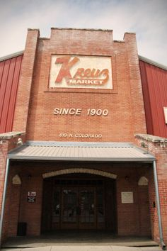 Kreuz Market in Lockhart, TX