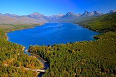 Lake McDonald in Gla