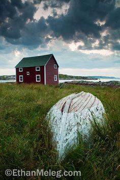 Newfoundland and Labrador, Canada Newfoundland Canada, Newfoundland And Labrador, Canadian Travel, Canadian Art, Take Better Photos, New Brunswick, Cool Landscapes, Coastal Homes, Nova Scotia