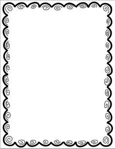 Pin 14 Border Clip Art Clipart 4 â€â€Å