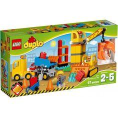 LEGO® DUPLO® 10813 - Velké staveniště - Cena : 1289,- Kč s dph