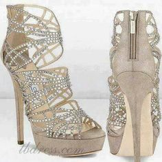b74c2782b9faf2 Cute bling nudes Hot Shoes