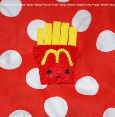mcdonalds french fries pin plushie