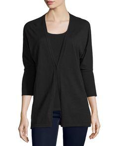 Vintage 1940's black cashmere sweater! Size XS Vintage short black ...