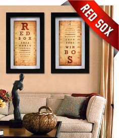 2013 Boston Red Sox Double Combo - Perfect Christmas, Birthday, Anniversary gift - Unframed Prints on Etsy, $39.50