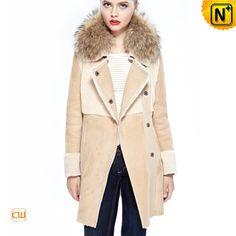 Women's Fur Shearling Coat CW644321 $1785.89 - www.cwmalls.com
