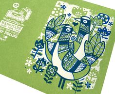 Two Turtle Doves Card - Rory Phillips | GoGo Picnic