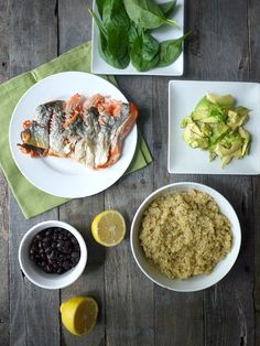 The Ultimate Pregnancy Lunch: Salmon & Spinach Quinoa Salad