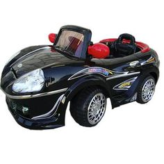 Best Ride On Cars 6V Battery Powered Sports Car with Big Battery Motor