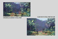 ArtStation - composition tips , Jihoon Kim
