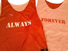 shop Valentines Day Pinnies - Always and Forever Pinnies - Happy Valentines Day - LacrossePinnies.com
