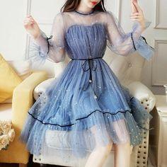 Korean Fashion Dress, Kpop Fashion Outfits, Girls Fashion Clothes, Mode Outfits, Dress Outfits, Fashion Dresses, Dress Clothes, Fashion Women, Girl Fashion