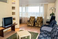 Apartment na Baltiiskaya 29 Petrozavodsk Apartment na Baltiiskaya 29 offers pet-friendly accommodation in Petrozavodsk. Guests benefit from balcony. Free WiFi is offered throughout the property.  The kitchen has a dishwasher and an oven. A TV with satellite channels is featured.