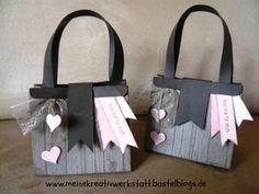 Stefanie Steichele: Handtasche mit dem Gift Bag Punch Board