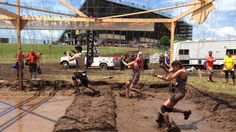 NeverWet vs. Tough Mudder. Check it out for yourself! #neverwet